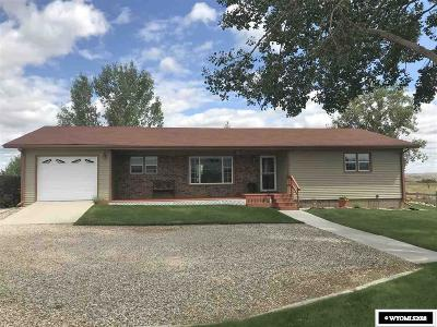 Buffalo WY Single Family Home For Sale: $383,000