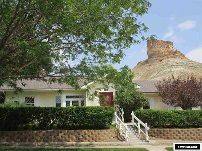 Green River Single Family Home For Sale: 484 West Flaming Gorge
