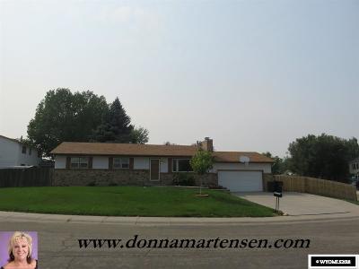 Casper Single Family Home For Sale: 4360 Sunrise