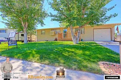 Casper Single Family Home For Sale: 430 Forest
