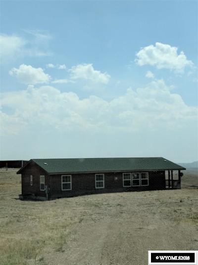 Kemmerer Single Family Home For Sale: 1671 S Sunlight Dr