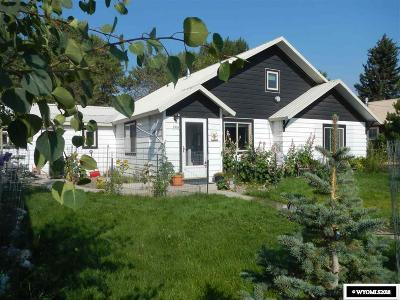 Fremont County Single Family Home Pending-Continue To Show: 206 Mercantile