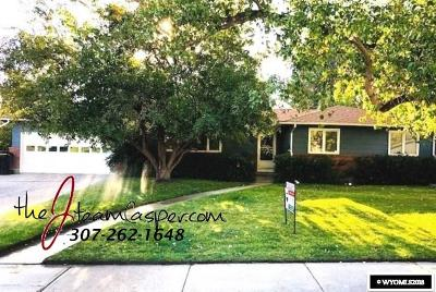 Casper Single Family Home For Sale: 3713 S Poplar
