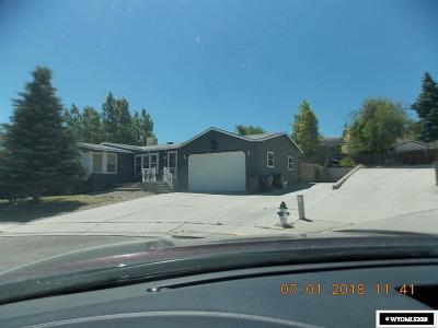 Green River Single Family Home For Sale: 2130 Grant