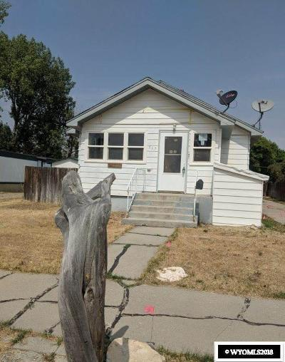 Kemmerer Single Family Home For Sale: 517 Opal St