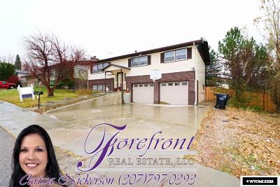 Casper Single Family Home For Sale: 3531 Swanton Ave