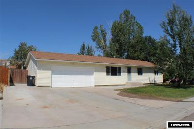 Rock Springs Single Family Home For Sale: 2840 Santa Cruz