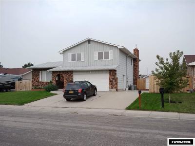 Casper Single Family Home For Sale: 4431 Sunrise Drive