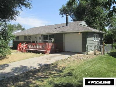 Casper Single Family Home For Sale: 465. Trigood