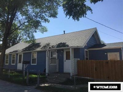 Rock Springs Single Family Home For Sale: 366 H