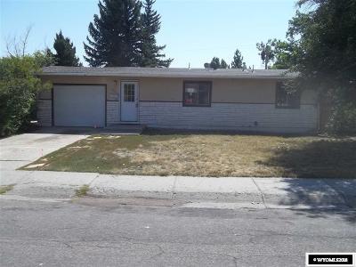 Casper Single Family Home For Sale: 2907 Belmont