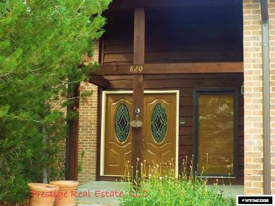 Casper Single Family Home For Sale: 820 Lake