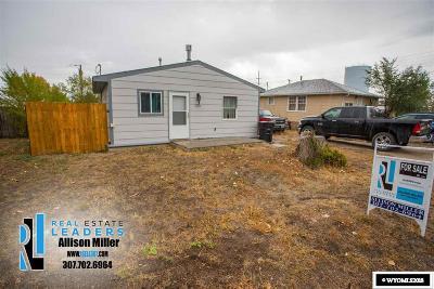 Casper Single Family Home For Sale: 323 S 5th
