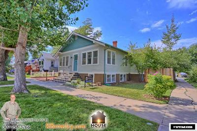 Casper Single Family Home For Sale: 634 S Lincoln