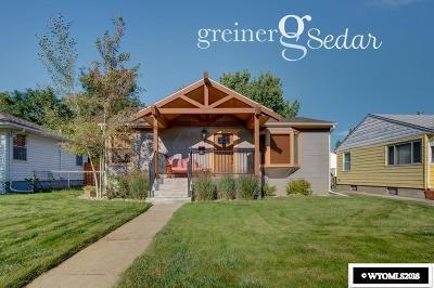 Casper Single Family Home For Sale: 2018 S Cedar