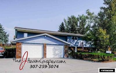 Casper Single Family Home For Sale: 2091 Kelly