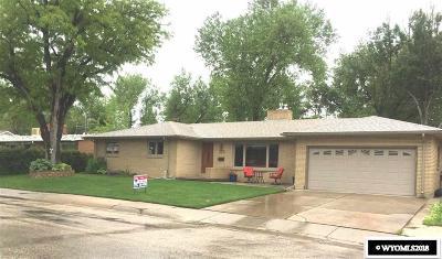 Casper Single Family Home For Sale: 2025 Lynwood