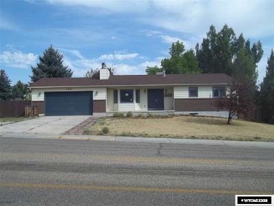 Casper WY Single Family Home For Sale: $241,600