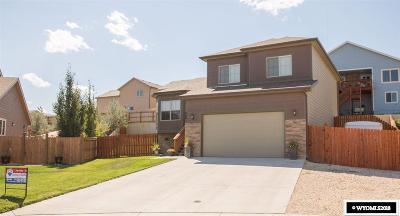 Casper WY Single Family Home New: $284,500