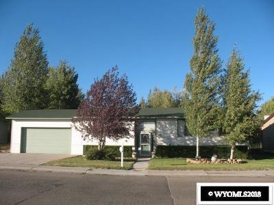 Kemmerer Single Family Home For Sale: 1401 Antelope