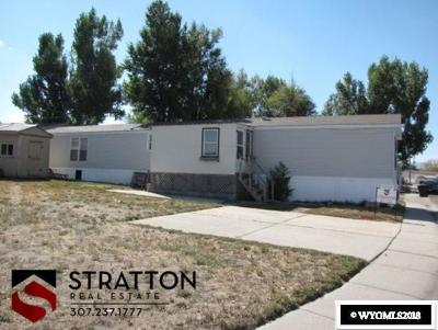 Casper WY Single Family Home For Sale: $29,500
