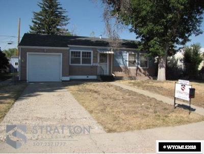 Casper WY Single Family Home For Sale: $127,600