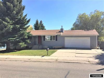 Kemmerer Single Family Home For Sale: 1336 Lincoln Heights