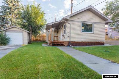 Casper WY Single Family Home New: $142,600