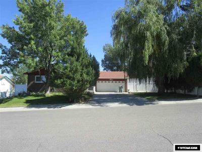 Rock Springs Single Family Home For Sale: 1389 Alpine