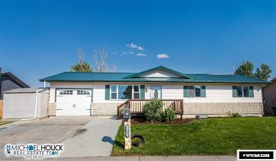 Casper WY Single Family Home For Sale: $195,000