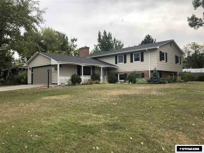 Casper Single Family Home For Sale: 3035 S Poplar