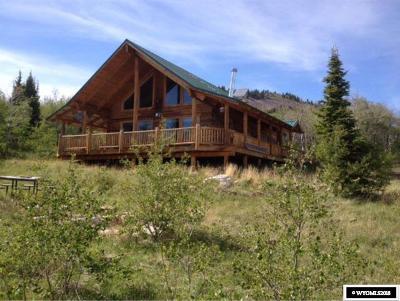 Kemmerer Single Family Home For Sale: 159 Eagles View