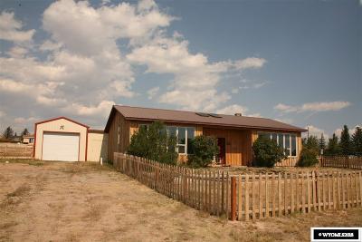 Dubois,  Kinnear,  Crowheart, Pavillion Single Family Home For Sale: 621 Mountain View