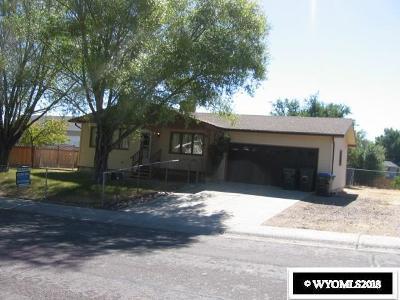 Green River Single Family Home For Sale: 1210 South Dakota