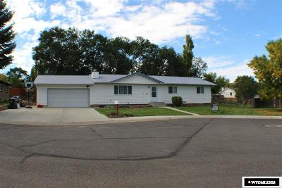 Green River Single Family Home For Sale: 1210 Singletree