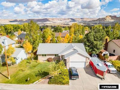 Green River Single Family Home For Sale: 2315 W Teton Blvd