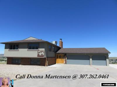 Casper Single Family Home For Sale: 4196 Skyline