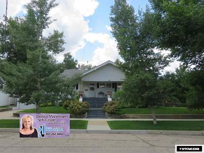 Casper Single Family Home For Sale: 419 Milton