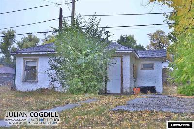 Casper Single Family Home For Sale: 1815 S Poplar