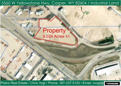 Mills Residential Lots & Land For Sale: 5560 W Yellowstone Hwy