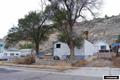 Rock Springs Single Family Home For Sale: 822 McKeehan