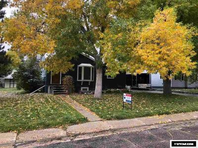 Casper WY Single Family Home For Sale: $225,000