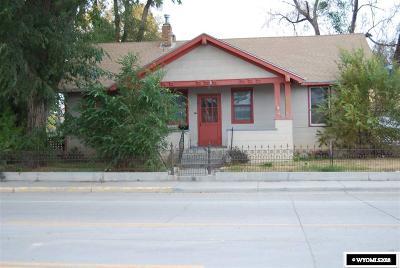 Rock Springs Single Family Home For Sale: 503 Bridger