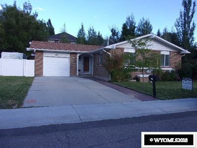 Rock Springs Single Family Home For Sale: 241 Jade