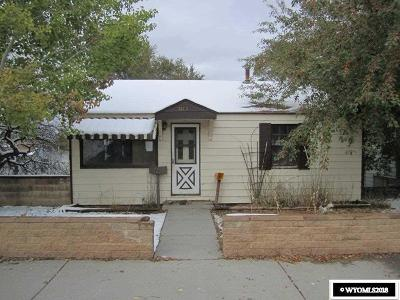 Rock Springs Single Family Home For Sale: 1113 Vermont