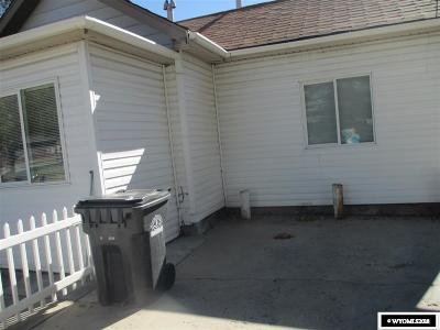 Rock Springs Single Family Home For Sale: 205 Hancock