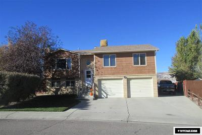 Rock Springs Single Family Home For Sale: 1026 Cypress