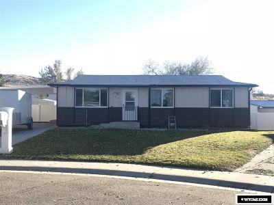 Rock Springs Single Family Home For Sale: 1119 Palisades