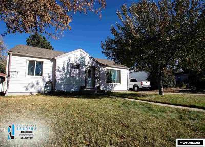Casper WY Single Family Home For Sale: $149,000