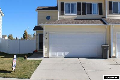 Rock Springs Single Family Home New: 721 Rampart